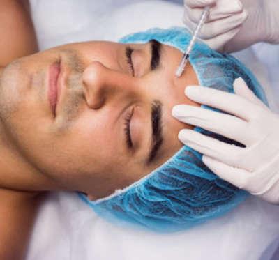 tratamiento facial de botox para hombre
