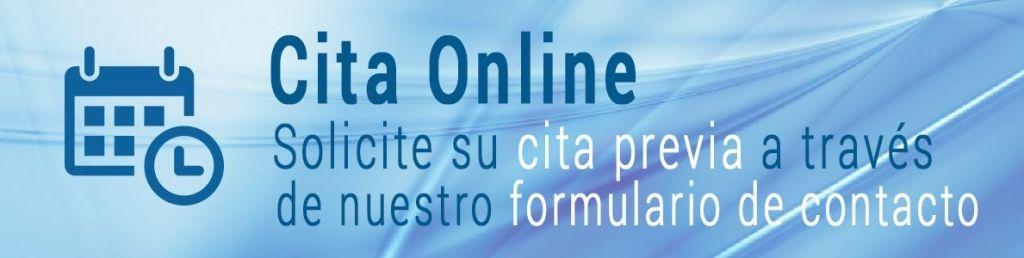 Solicite su Cita Previa - Dr González-Fontana
