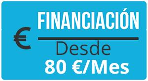 banner financia tu aumento de pecho con prótesis desde 80 euros.