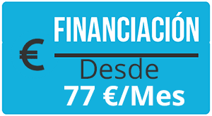 banner financiación cirugía de mastectomia desde 77 euros.